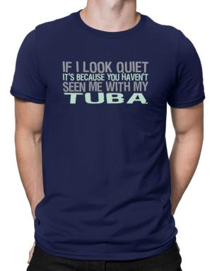 Playeras de If I Look Quiet It