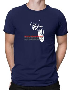 I Love My Belgian Malinois Men T-Shirt