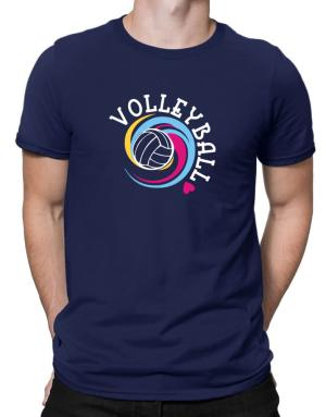 Volleyball colors Men T-Shirt