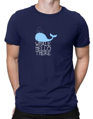 Whale hello there Men T-Shirt