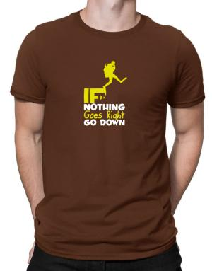 Polo de If nothing goes right go down scuba diving