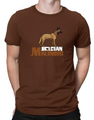 Belgian malinois cute dog Men T-Shirt
