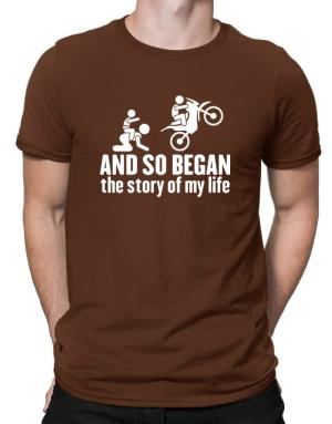 Polo de And so began the story of my life motocross