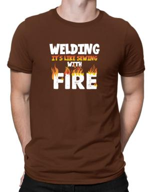 Playeras de Welding it
