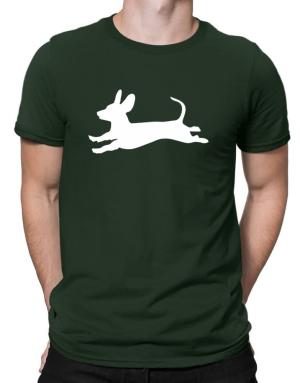 Dachshund jump Men T-Shirt
