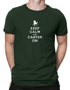 Keep calm and canter on Men T-Shirt