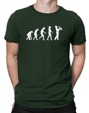 Camisetas de Saxophone Player Evolution
