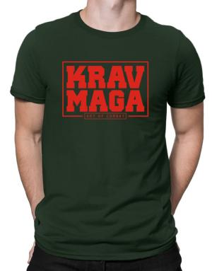 Krav maga art of combat Men T-Shirt