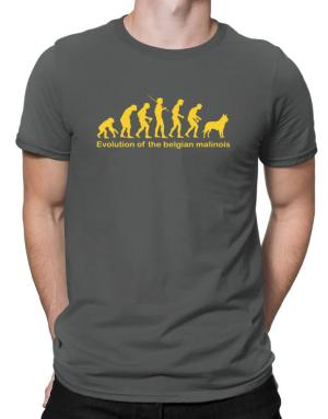 Evolution Of The Belgian Malinois Men T-Shirt