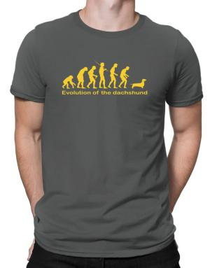 Evolution Of The Dachshund Men T-Shirt
