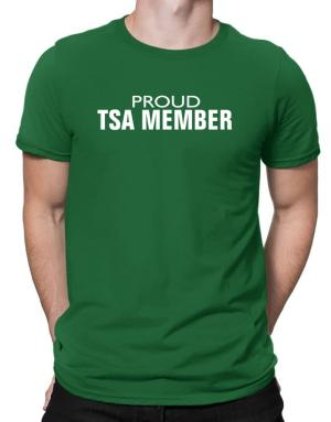 Proud Tsa Member Men T-Shirt