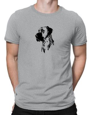 Great Dane Face Special Graphic Men T-Shirt
