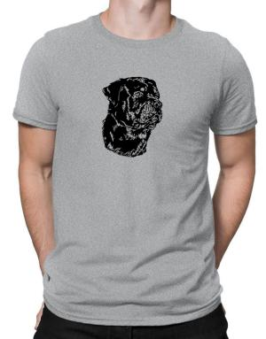 Polo de Rottweiler Face Special Graphic
