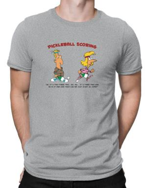 Pickleball Scoring Men T-Shirt