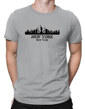 New York city skyline Men T-Shirt