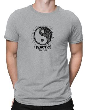I practice Tai chi Men T-Shirt