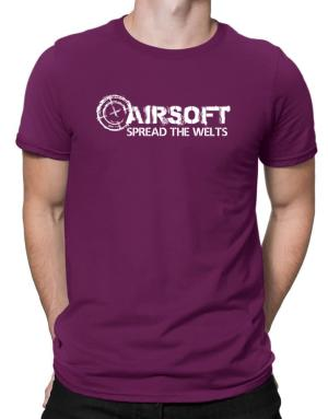 Airsoft spread the welts Men T-Shirt