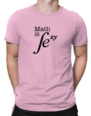 Math is Sexy Men T-Shirt