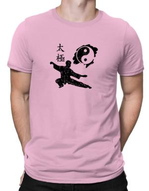 Tai chi fight position Men T-Shirt