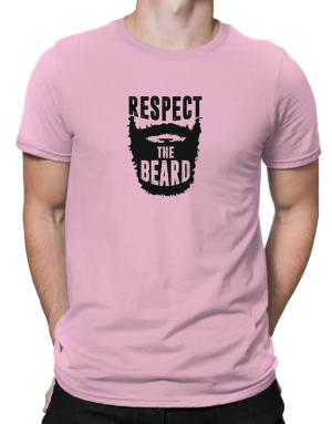 Respect the beard Men T-Shirt