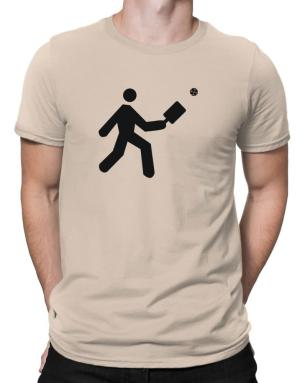 Pickleball Stickman Men T-Shirt