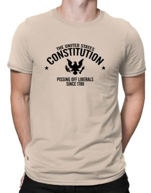 US Constitution Pissing Off Liberals since 1788 Men T-Shirt