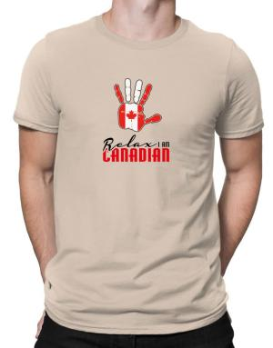 Canada relax I am Canadian Men T-Shirt