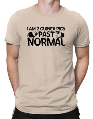 I am two guinea pigs past normal Men T-Shirt