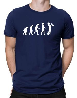 Playeras de Saxophone Player Evolution