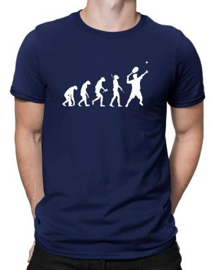 Tennis Player Evolution Men T-Shirt