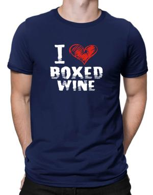 Camisetas de I love boxed wine