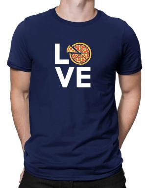 Love pizza Men T-Shirt