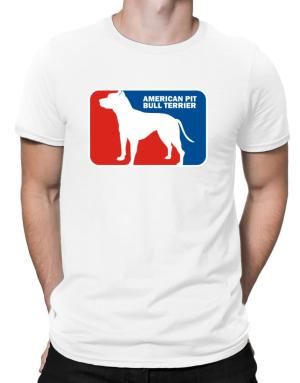 American Pit Bull Terrier Sports Logo Men T-Shirt