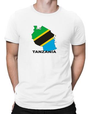 Polo de Tanzania - Country Map Color