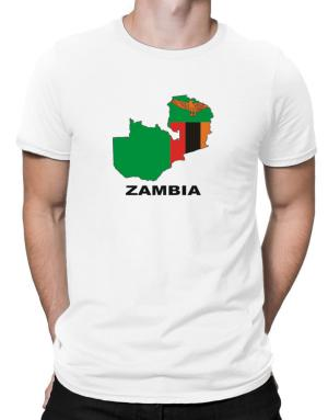 Polo de Zambia - Country Map Color
