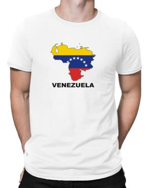 Venezuela - Country Map Color Men T-Shirt