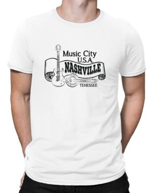 Music city Usa Nashville Tennessee Men T-Shirt