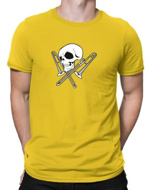 Skull and Trombone Men T-Shirt