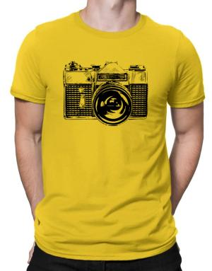 Retro Camera Men T-Shirt