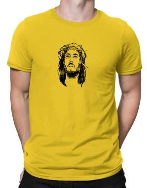 Jesus Christ face Men T-Shirt