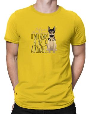 It will always be fast & adorable Belgian malinois Men T-Shirt