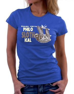 Philosophical Sloth Women T-Shirt