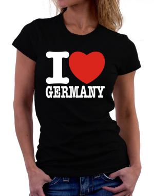 Playeras de I Love Germany