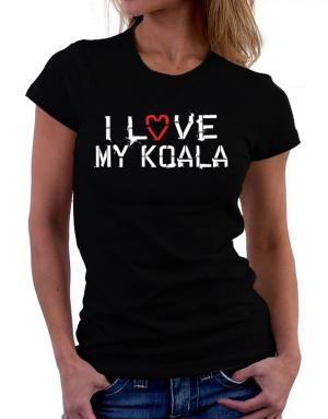 I Love My Koala Women T-Shirt