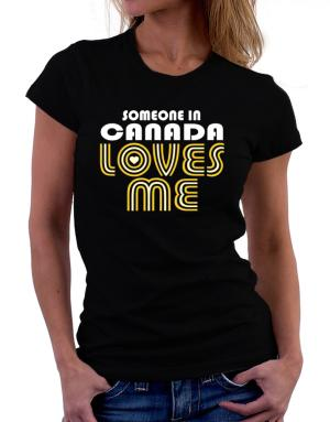 Polo de Dama de Someone In Canada Loves Me