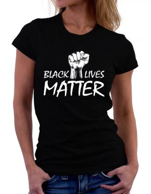 Polo de Dama de Black lives matter
