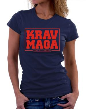 Krav maga art of combat Women T-Shirt