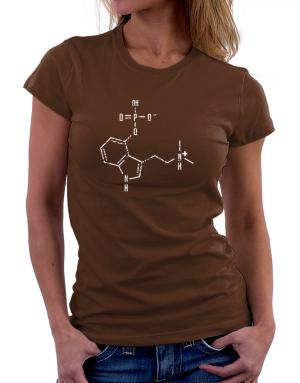Psilocybin Chemical Formula Women T-Shirt