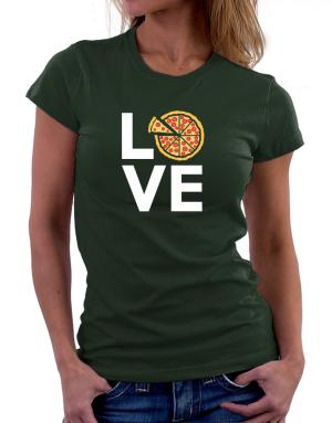 Love pizza Women T-Shirt