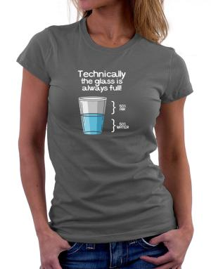 Polo de Dama de Technically the glass is always full!